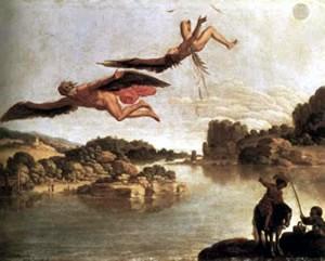 Fall of Icarus  Carlo Saraceni (1585-1620)