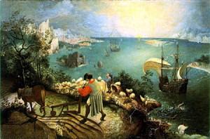 Brueghel's icarus